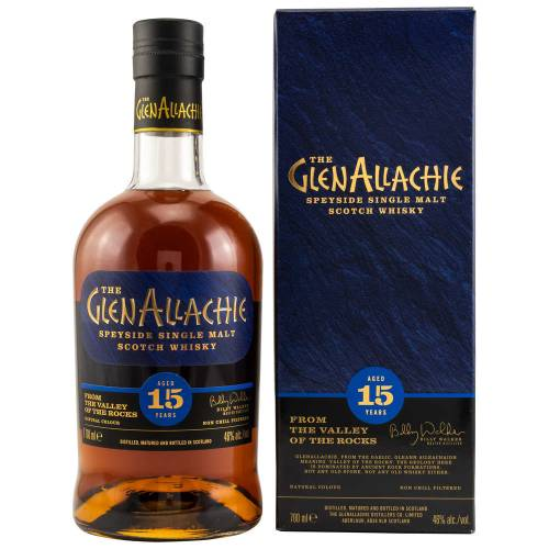 GlenAllachie 15 YO Whisky 46% 0,70l