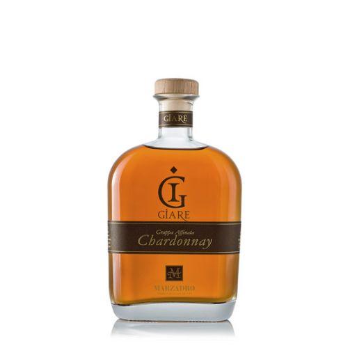 Marzadro Grappa Le Giare Chardonnay 45% 0,70l