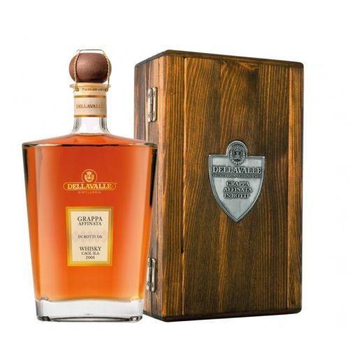 Dellavalle Grappa Affinata in Botti da Whisky 42% 0.70l