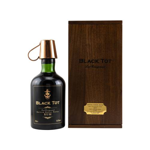 Black Tot Last Consignment Royal Rum 54,3% vol 700ml