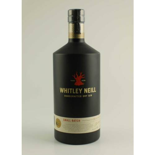 Whitley Neill Handcrafted Dry Gin Small Batch 1,0L 43% Vol.