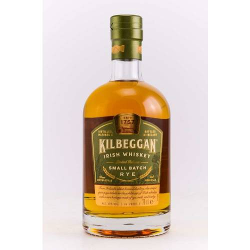 Kilbeggan Rye Irish Whiskey Small Batch