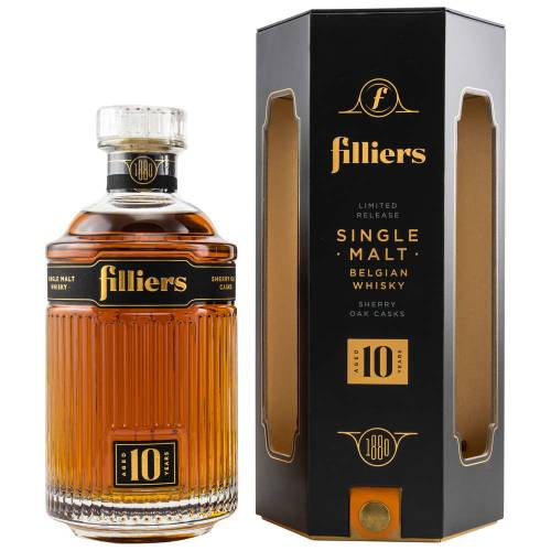 Filliers 10 YO Sherry Casks Whisky Batch #1