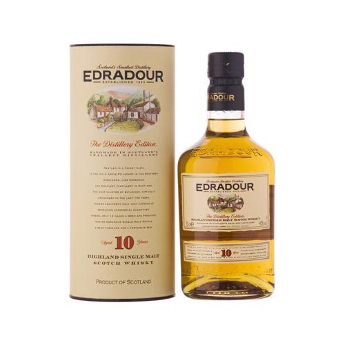 Edradour 10 Jahre Highland Single Malt Whisky Schottland