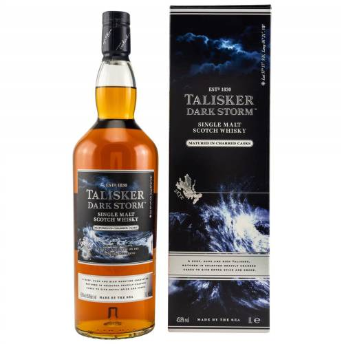 Talisker Dark Storm Whisky 45,8% 1 Liter