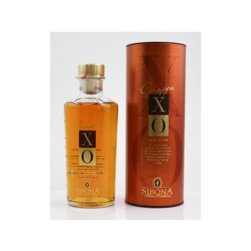 Grappa XO Aged Cuvee - Sibona 44% 0,50l