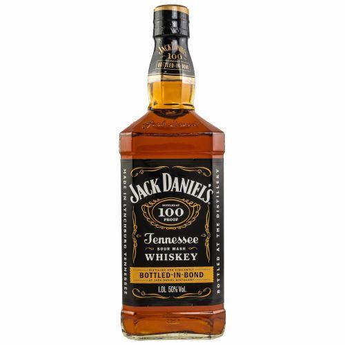 Jack Daniels 100 Proof Bottled in Bond Tennessee Whiskey 50% 1,0l