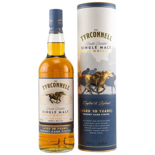 Tyrconnell 10 YO Irish Whiskey Sherry Cask Finish 46% 0,70l