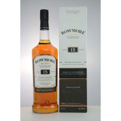 Bowmore 15 YO Whisky Golden & Elegant 43% 1,0l