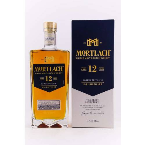 Mortlach 12 YO Whisky The Wee Witchie 43,4% 0,70l