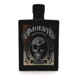 Amuerte Coca Leaf Gin Black Premium Distilled 43% 0,70l
