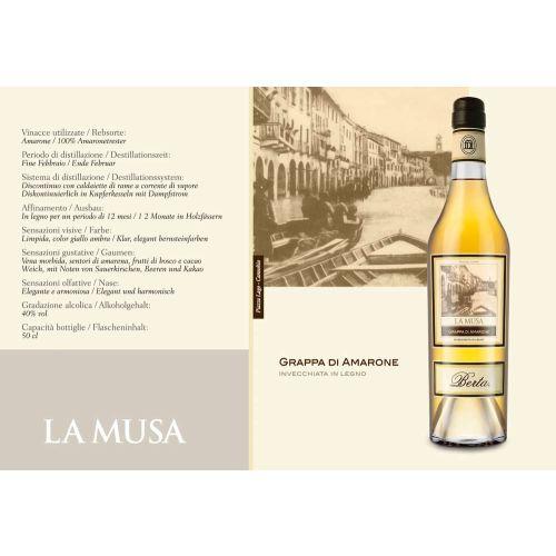 Berta Grappa di Amarone La Musa 0,50l 40%