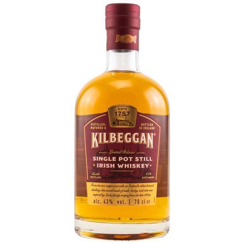 Kilbeggan Single Pot Still Irish Whiskey Limited Release 43% 0,70l