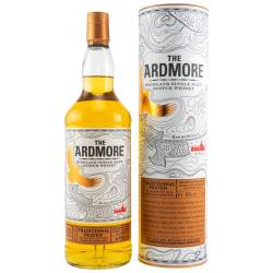 Ardmore Single Malt Whisky Traditional Peated 46% 1,0l
