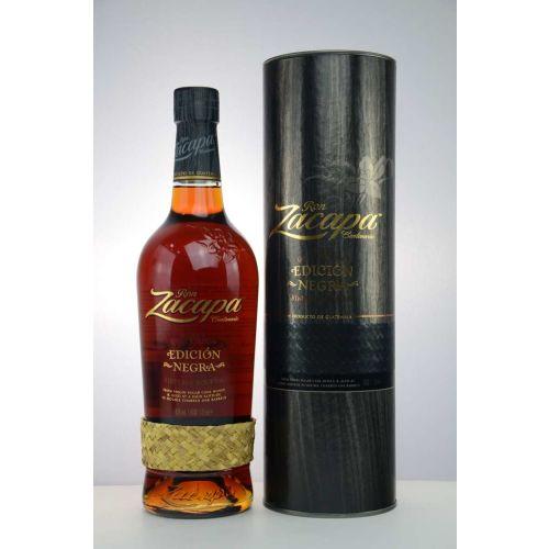Zacapa Edicion Negra Rum 43% 0,70l