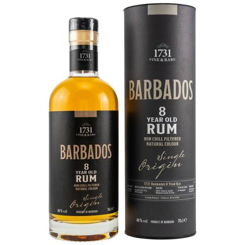 1731 Rum Fine & Rare Barbados 8 YO 46% vol. 070 Liter