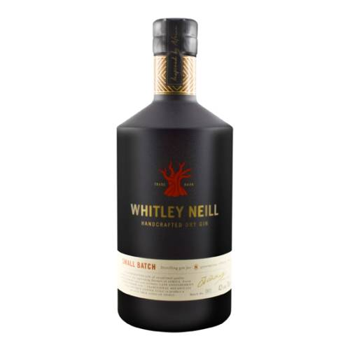 Whitley Neill Dry Gin Handcrafted 43% vol. 0,70 Liter