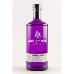 Whitley Neill Handcrafted Gin Rhubarb & Ginger 43%...