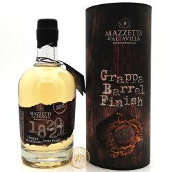 Grappa di Moscato Porto Finish - Mazzetti dAltavilla 43% vol 0,50 Liter