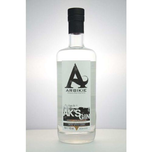 Arbikie Gin Aks 43% vol. 0,70 Liter