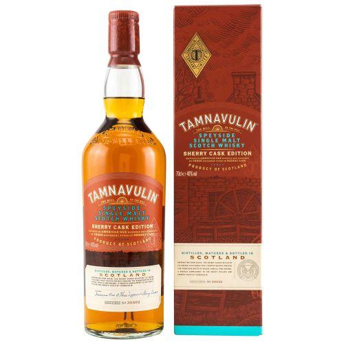Tamnavulin Whisky Sherry Cask Edition 40% vol. 0,70 Liter