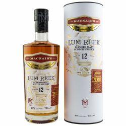 MacNairs Whisky Lum Reek 12 Jahre Peated 46% vol. 0,70 Liter
