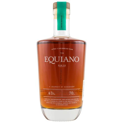 The Equiano African - Caribbean Rum 43% 0,70 Liter