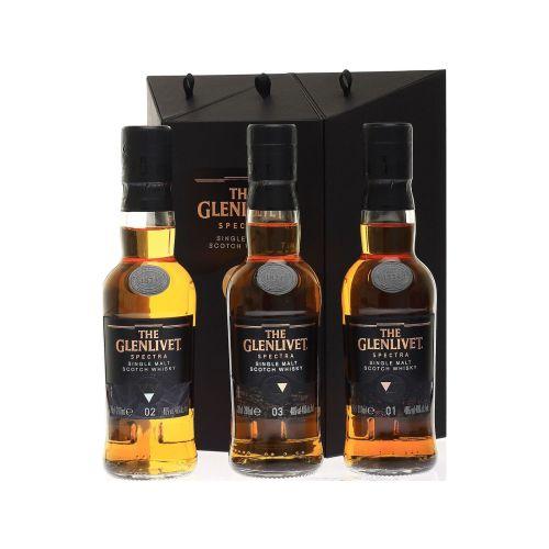 Glenlivet Spectra Set 3 x 200ml Single Malt Whisky