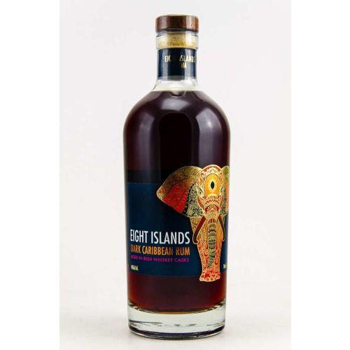 Eight Islands Dark Rum 40% 0.70l