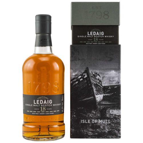 Ledaig 18 YO Sherry Cask Finish Single Malt Whisky 46,3% 0.70l