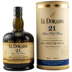 El Dorado 21 YO Special Reserve Demerara Rum (43% 0.70l)