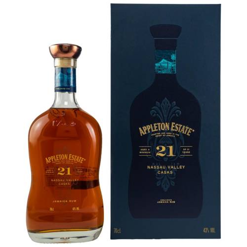 Appleton 21 YO Estate Jamaika Rum (43% 0.70l)