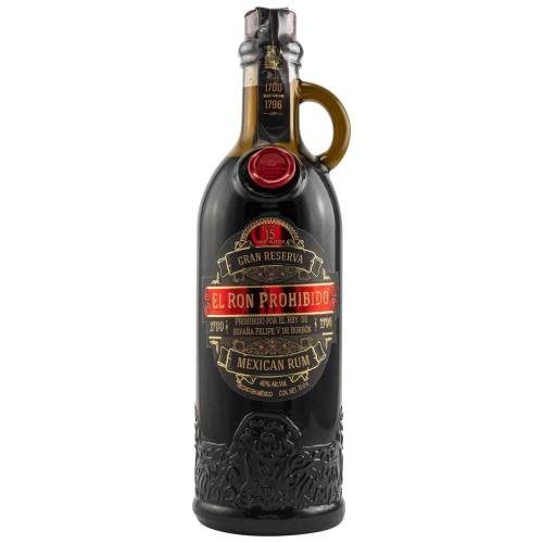 El Ron Prohibido 15 YO Gran Reserva Mexico Rum 40% vol. 0,70l