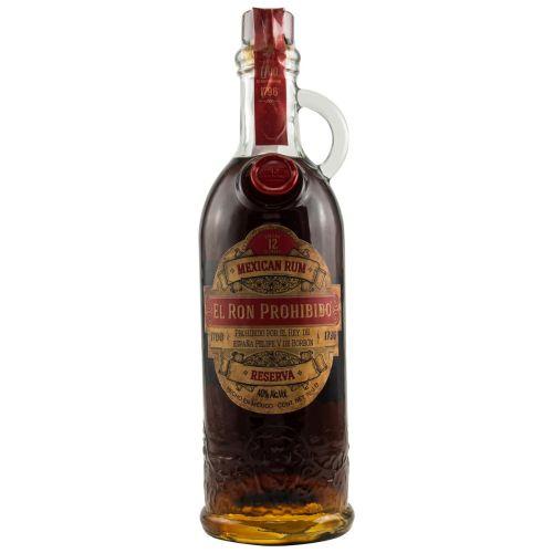 El Ron Prohibido 12 YO Habanero Rum Mexico (40% 0.70l)