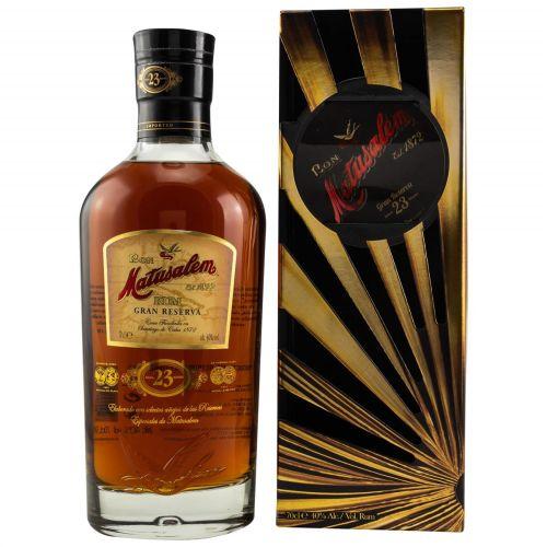 Matusalem Gran Reserva Rum Solera 23 - 40% vol. 0,70l