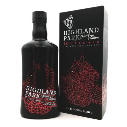 Highland Park 16 Jahre Twisted Tattoo Whisky (1 x 700ml)