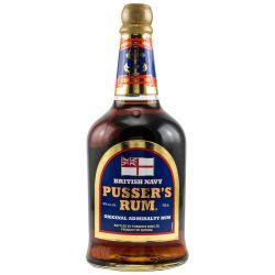 Pussers Rum British Navy Blue Label 0,70l 40%