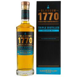 1770 Glasgow Triple Distilled Single Malt Whisky 46% vol....