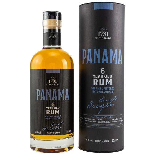 1731 Rum Panama 6 Jahre 46% vol. 700ml