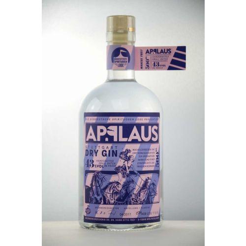 Applaus Stuttgart Dry Gin 43% vol. 500ml