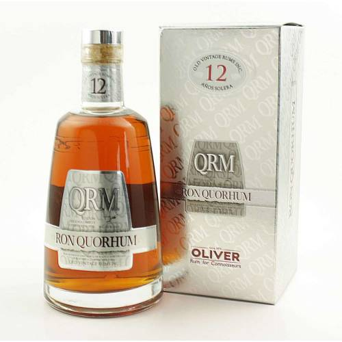Quorhum 12 Jahre Solera Rum 40% vol. 700ml