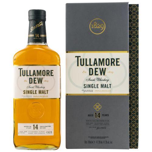 Tullamore DEW 14 YO Single Malt Irish Whiskey 41,3% vol. 700ml