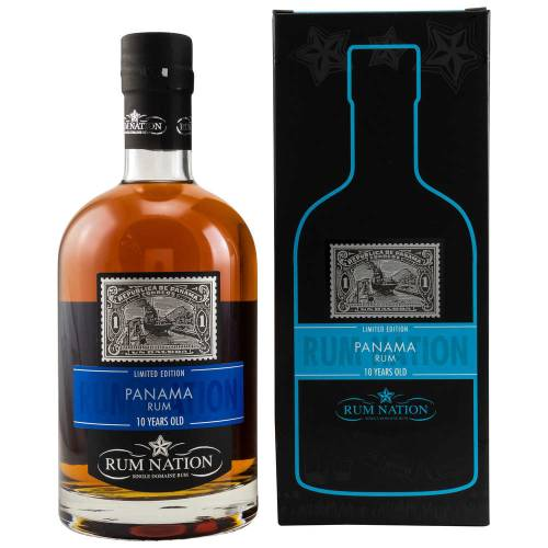 Rum Nation 10 Jahre Panama 40% vol. 700ml
