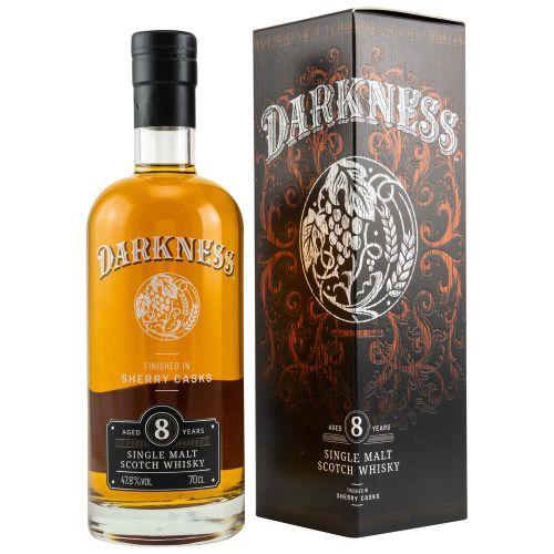 Darkness 8 Jahre Sherry Casks Finish Whisky 47,8% 500ml