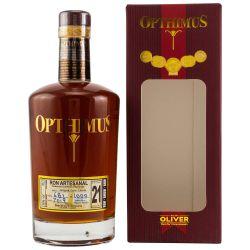 Opthimus Rum 21 Jahre Magna Cum Laude 38% vol. 0,70l