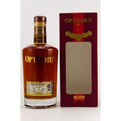 Opthimus Rum 15 Jahre Solera 38% vol. 0,70l