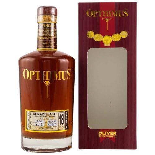 Opthimus 18 Jahre Solera Rum 38% vol. 0.70l