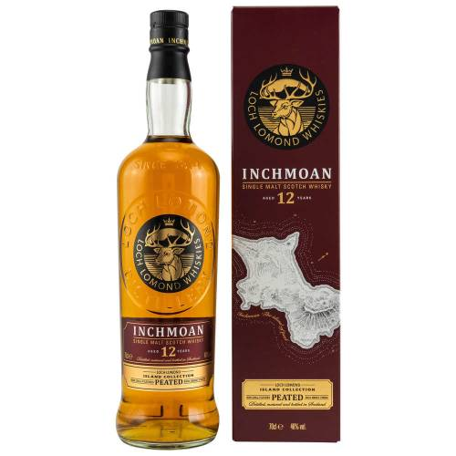 Inchmoan 12 Jahre Peated Whisky 46% vol. 700ml