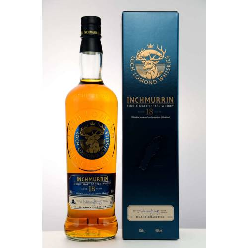 Inchmurrin 18 Jahre Single Malt Whisky 46% vol. 700ml