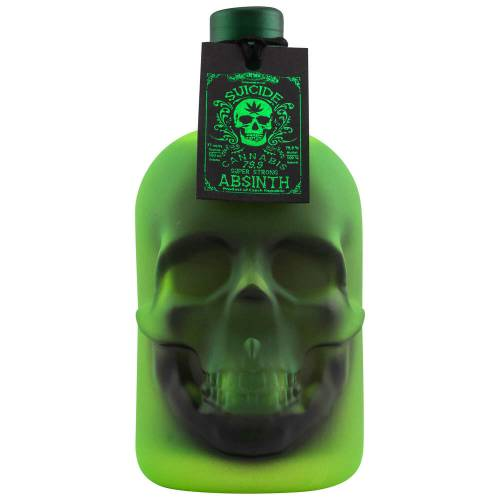 Hills Suicide Absinth Super Strong Cannabis 79,9% vol. 0.50 l